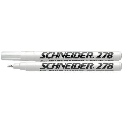 """Baltas markeris """"Schneider Maxx 278"""""""