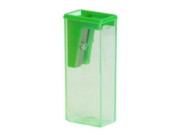 Faber-Castell drožtukas su dėžute
