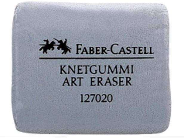 "Minkomas pilkas trintukas pastelei ""Faber-Castell"""