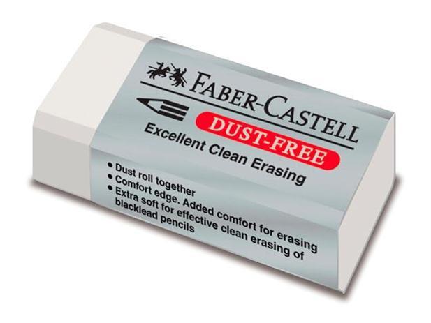 """Trintukas nepaliekantis šiukšlių  """"Faber-Castell""""41x19mm"""