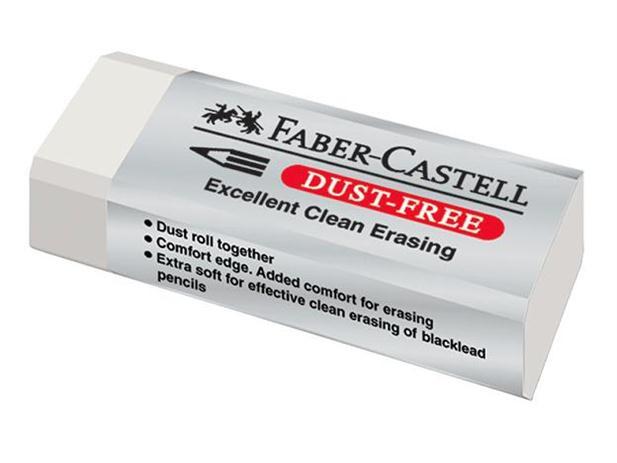 """Trintukas nepaliekantis šiukšlių  """"Faber-Castell"""" 62x21mm"""